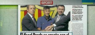 Pedrerol llama 'palmeros' a la prensa catalana por señalar al Madrid como la 'mano negra' del caso Neymar