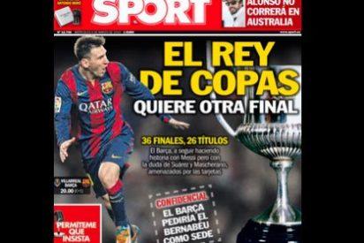 """Roncero tacha de """"arrogante"""" a Sport por apuntar que el Barça pedirá jugar la final de Copa del Rey en el Bernabéu"""
