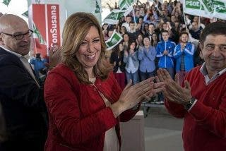 Susana Díaz da por hecho que Mariano Rajoy volverá a ganar las generales