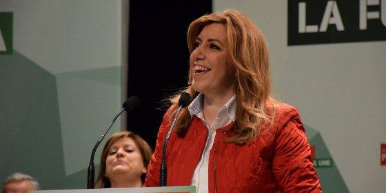 "Susana Díaz: ""Queremos que gane Andalucía y unir a Andalucía. Ni siquiera queremos el voto útil"""