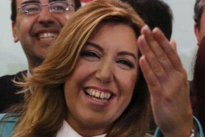Susana Díaz perpetúa la telaraña socialista en Andalucía gracias al descalabro del PP