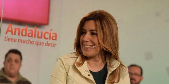 """La presidenta de la Junta en funciones, Díaz: """"O gobierna el PSOE o no hay Gobierno"""""""