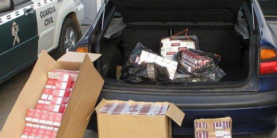 Intervenidas en Puebla de Sancho Pérez 2.000 cajetillas de tabaco procedente del contrabando