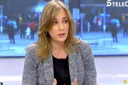 Tania Sánchez se pone más chula que un ocho y los tertulianos de 'Ana Rosa' la acaban poniendo fina