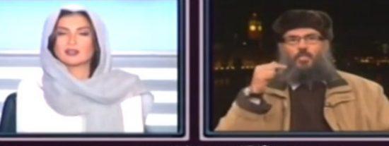 [Vídeo] ¿Por qué no te callas? Una presentadora de TV le baja los humos a un 'incendiado' clérigo islamista