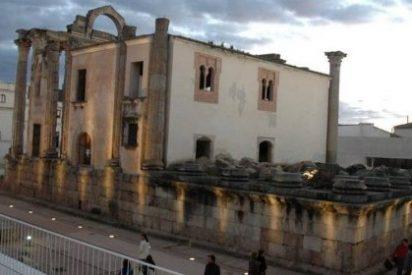 Los trabajos de consolidación en el Templo de Diana, Proyecto Mecenas 2015 en Mérida