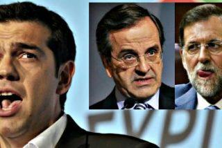 Tsipras acusa a Rajoy de montar un complot para derribar el gobierno de Syriza por temor al efecto 'perturbador' de Podemos