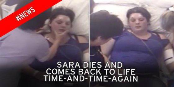 [Vídeo] Así resucitan con dolor a la joven que se ha muerto 36 veces en menos de un año