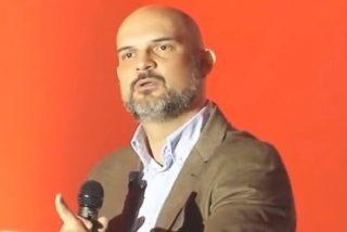 """Víctor Sánchez del Real (Vox): """"No vamos a pactar jamás con un partido denominado Podemos"""""""