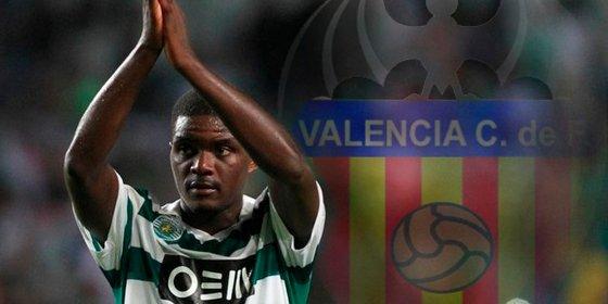El internacional luso podría terminar en el Valencia