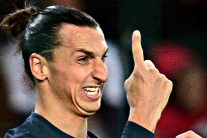 "Zlatan Ibrahimovic: ""Esta mierda de país [Francia] no se merece al PSG"""