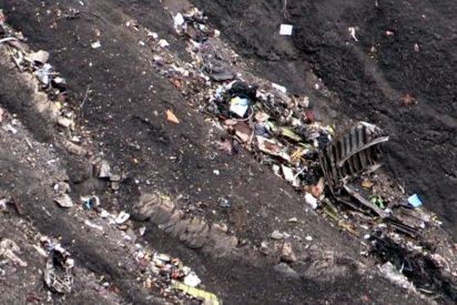 Un equipo entero se salvo en el último momento del accidente aéreo