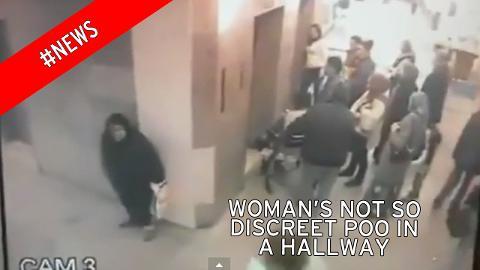 ¿Te atreves a ver lo que hace una señora cagona en un hospital?