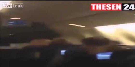 ¡El vídeo de los aterrados pasajeros del avión de Germanwings durante su caída hacia la muerte!