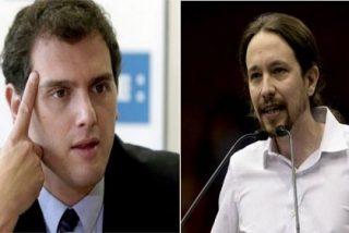 La bicicleta pinchada de Podemos y el caballo ganador de Ciudadanos