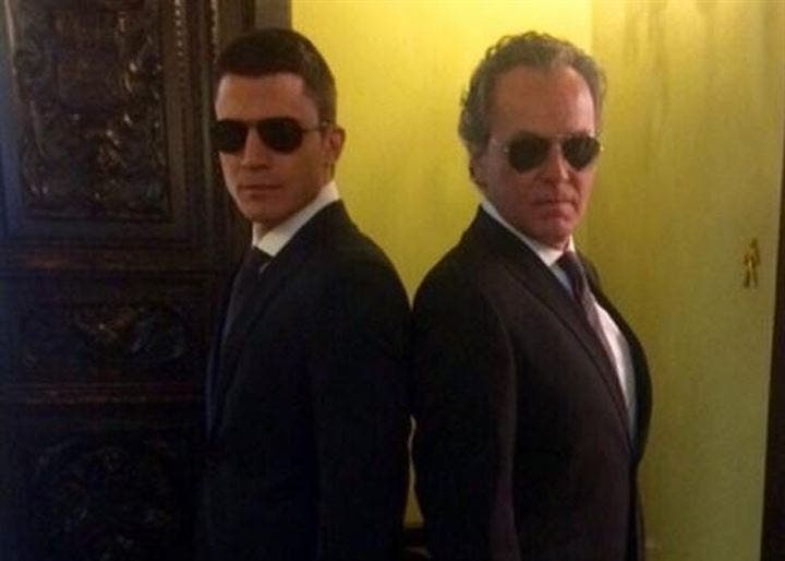 Álex González y José Coronado, divertida amistad entre los actores de 'El Príncipe'
