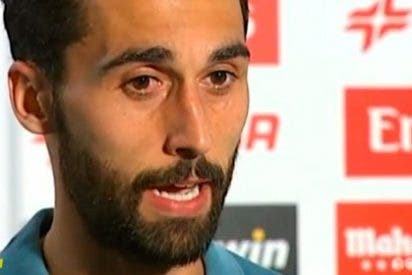 Arbeloa resta importancia al gesto de enfado de Cristiano tras su gol: