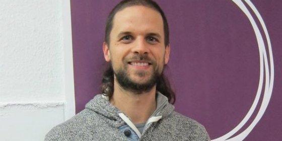 Álvaro Jaén, candidato oficial de Podemos Extremadura a las Elecciones al Parlamento Extremeño