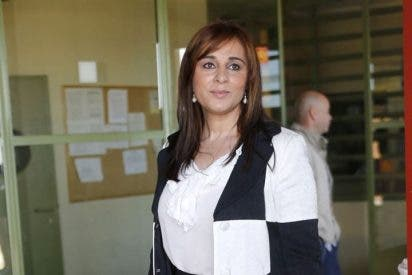 """Ana María Aldón: """"A mi hijo le decimos que su padre se va al cole, le echa de menos"""""""