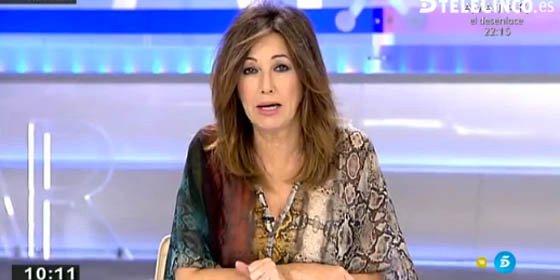 """Ana Rosa sobre Monedero y Podemos: """"En elecciones los partidos retiran a quienes les puedan quitar votos. Eran distintos a los demás pero ya no"""""""