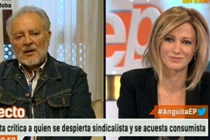Julio Anguita le 'hace la cobra' a Susanna Griso negándose a hablar sobre el viraje ideológico de Podemos