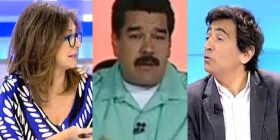 """Ana Rosa y Arcadi Espada lapidan a Maduro: """"Es una vergüenza internacional y un payaso"""""""