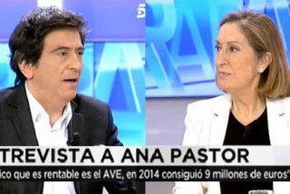 """Arcadi aprieta a la ministra Pastor: """"¡Cómo es posible que Rajoy convoque a 600 altos cargos del PP para darles un mitin!"""""""