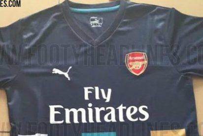 El Arsenal sorprende con el diseño de su segunda equipación