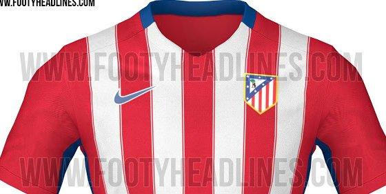 Filtran nuevos detalles de la camiseta del Atlético de Madrid