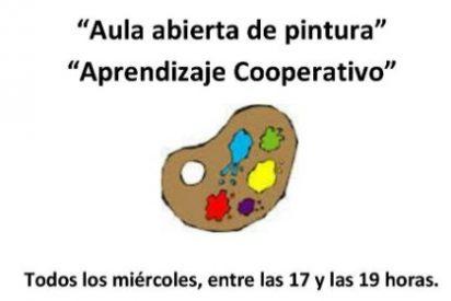 Aula Abierta de Pintura en el Espacio de Creación Joven de Valencia de Alcántara (Cáceres)
