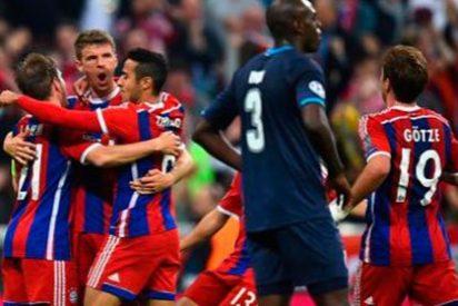 La 'tormenta perfecta' del Bayern en la primera parte remonta la eliminatoria ante el Oporto (6-1)