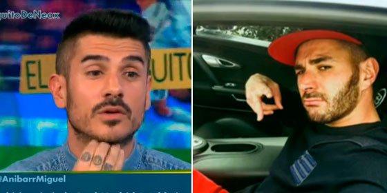 """Álvaro Benito, indignado con la actitud de Benzema: """"Le dicen que no va a jugar y está como el que ve llover"""""""
