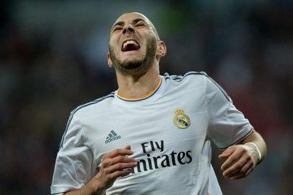 Real madrid: Benzema es baja ante el Málaga pero estará ante el Atlético de Madrid en Champions