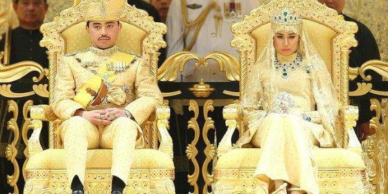 La extravagante boda del hijo del Sultán de Brunéi te dejará boquiabierto