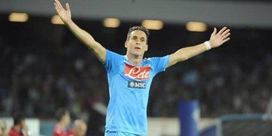El Nápoles emite un comunicado tras anunciarse el fichaje de Callejón por el Atlético
