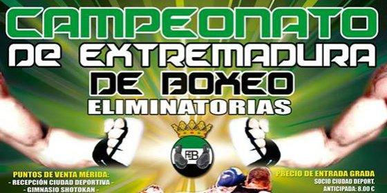 Velada de boxeo en Mérida