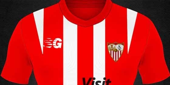 Así sería la nueva camiseta del Sevilla