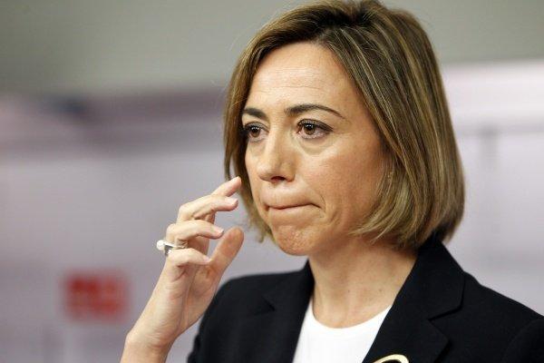 """Carme Chacón: """"Cospedal ha perpetrado en C-LM el mayor saqueo con los empleados públicos, maestros, médicos y dependientes"""""""