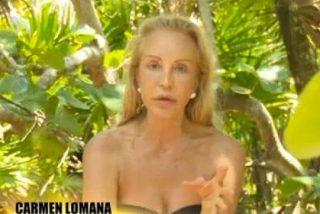 Problemas muy graves para 'SV2015': Carmen Lomana, a punto de abandonar, ¿sobrevivirá el reality sin ella?