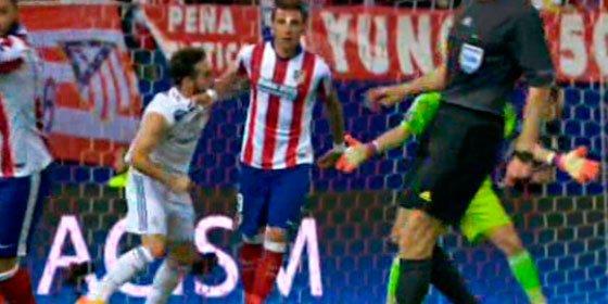 """Cuando habla Tebas sube el pan: """"Sí se ve que hay un ánimo de agresión por parte de Carvajal, tiene que ser sancionado"""""""