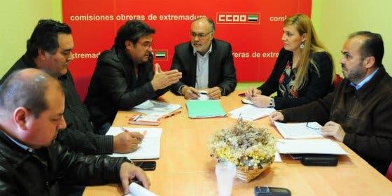 CCOO inicia con Extremeños su ronda de contactos con los partidos políticos