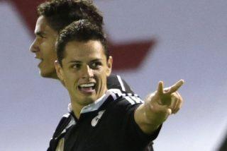 Chicharito demuestra que tiene ángel por partida doble y el Real Madrid deja claro que quiere la Liga