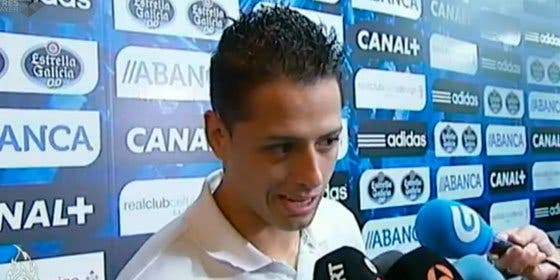 """Chicharito, tras sus últimas actuaciones en Champions y en Liga: """"No depende de mí estar en el Madrid un año o más"""""""