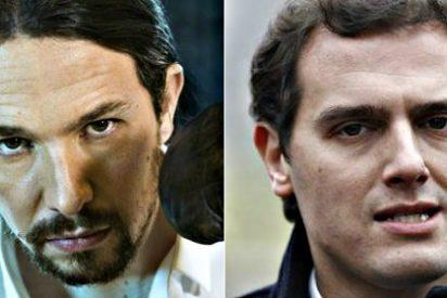Pablo Iglesias cambia de estrategia y carga contra Albert Rivera para intentar relanzar Podemos