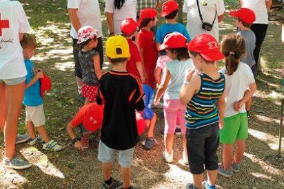 Niños y niñas extremeños y portugueses van de campamento de la mano de Cruz Roja Juventud