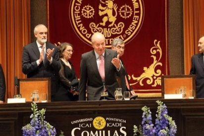 Su Majestad el Rey D. Juan Carlos anima en la Pontificia a incrementar la cooperación entre ambos lados del Atlántico