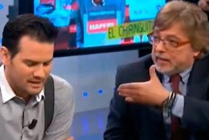 """José Damián González llama """"intolerante"""" a Quim Domènech y Pedrerol le responde: """"También puedes parecerlo tú"""""""