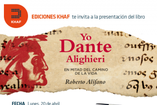 """Roberto Alifano presenta su """"Dante"""" (Khaf), en el Círculo de Bellas Artes"""