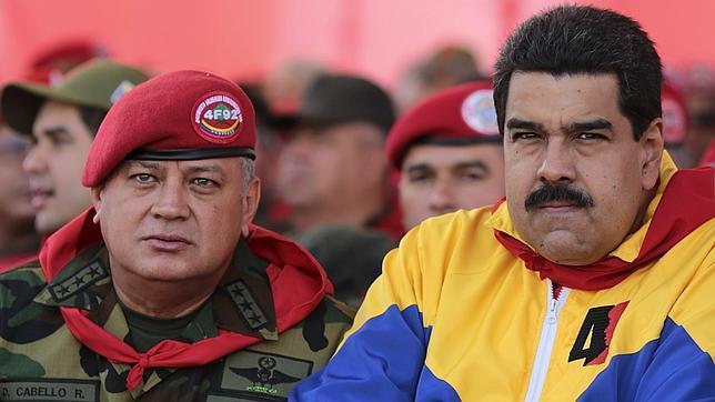 """EEUU les dará para el pelo al iracundo Maduro y a Cabello: """"Están vinculados al narcotráfico"""""""
