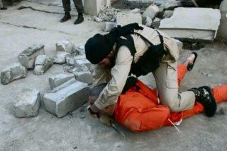 El Estado Islámico le corta la garganta a 5 periodistas de un canal de TV libio